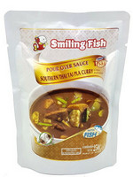 SMILING FISH POUR OVER SOUTHERN THAI TAI PLA CURRY SAUCE 250G