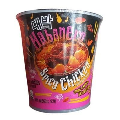 MAMEE Daebak Habanero Spicy Chicken Cup 83g