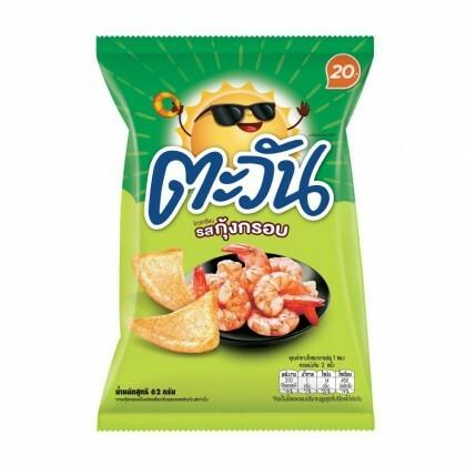 Tawan - Tapioca Chips Crispy Prawn  62g