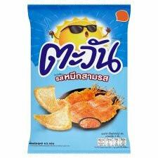 Tawan Sweet & Sour Squid Flavor Tapioca Chips 62g