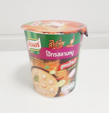 Knorr Instant Thai Jasmine Rice Porridge Pork LAAB Flavoured 35g