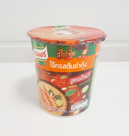 Knorr Instant Jasmine Rice Porridge Tom Yum Shrimp Flavour 35g