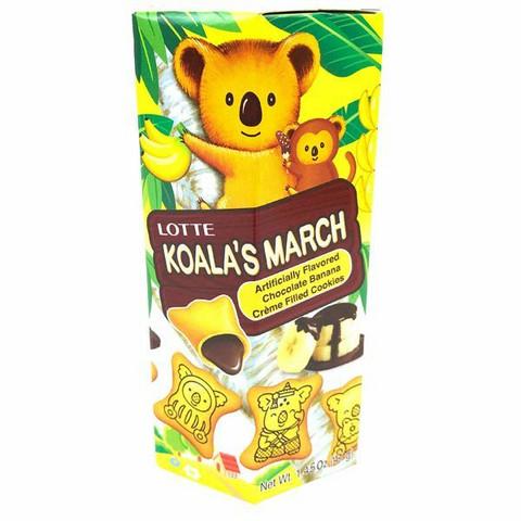 Lotte Koala's March Chocolate Banana Flavor 37g