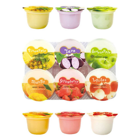 ABC Assorted Jelly Snack (6 x 123 g)