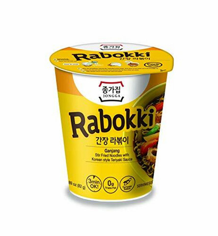 Rabokki Ganjang Stir Fried Korean Noodles Teriyaki Sauce 82g