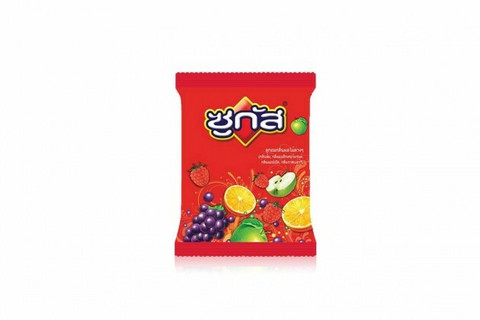 Sugus Blackcurrant Raspberry Orange Chewy Candy 45g