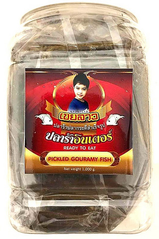 Khoei Lao Pickled Gouramy Fish 1kg