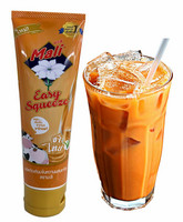 Mali Sweetened Condensed Milk with Thai Tea Easy Squeeze 120g