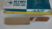 Thai Kiwi Brand  Cook Kitchen Knife Stainless Steel Wood Handle