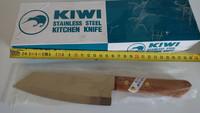 Thai Kiwi Brand  Cook Kitchen Knife Stainless Steel Wood Handle