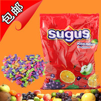 Sugus Candy, Orange Flavor, Black Currant Flavor, Apple Flavor, Raspberry Flavor Candy 95g