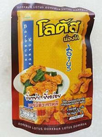 Dorkbua Lotus Chicken Snacks Barbeque Korean Flavour 115g