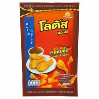 Dorkbua Lotus Brand Hot & Spicy Biscuit 115g