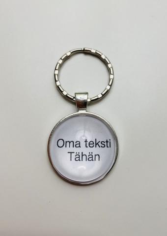 OMALLA TEKSTILLÄ - avaimenperä