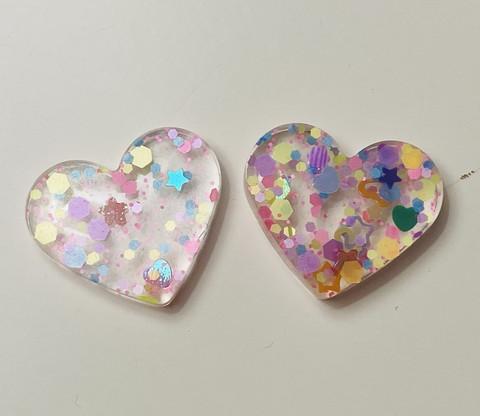 Multicolor, nappimalli, sydän