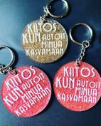 Akryyli avaimenperät