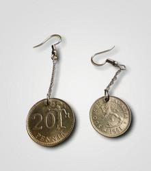 Penni korvakorut 1981 20penniä&10penniä