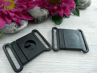 Kiinnitysklipsi, 25mm, musta, 1kpl