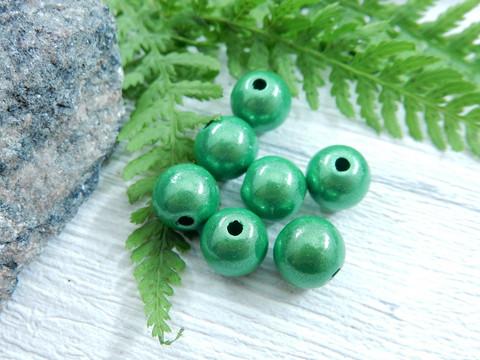 Heijastava helmi, 8mm, vihreä, 1kpl