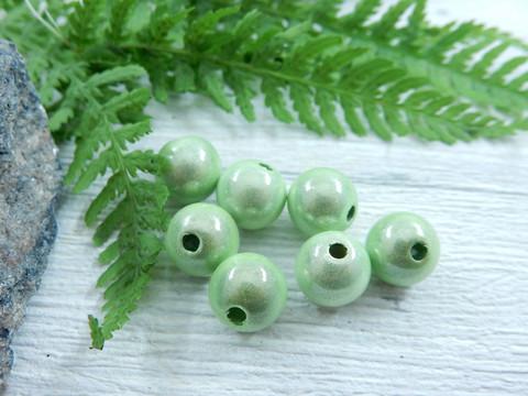 Heijastava helmi, 8mm, lime vihreä, 1kpl