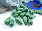 Heijastava helmi, 10x6mm, vihreä, 1kpl