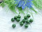 Heijastava helmi, 4mm, vihreä, 1kpl