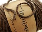 Makramee lanka, ruskea, 1m
