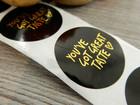 You`ve got great taste tarra, 25mm, musta, 10kpl