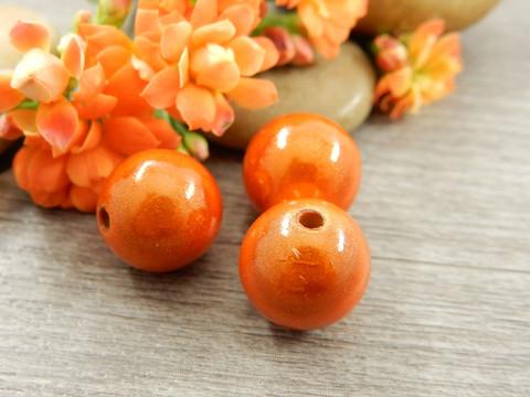 Heijastava helmi, 12mm, oranssi, 1kpl