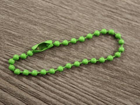 Palloketju lukolla, 12cm, vihreä, 1kpl