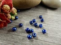 Akryylihelmi, 3mm, sininen, 50kpl
