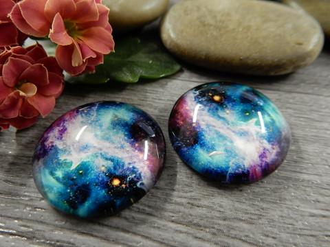 Kapussi galaxy, 20mm, moniväri, 1kpl