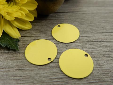 Ympyräriipus, 12mm, keltainen, 1kpl
