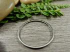 Linkki ympyrä, 25mm, umpi, rst, 1kpl