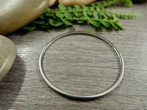 Linkki ympyrä, 35mm, umpi, rst, 1kpl