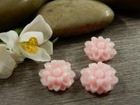 Kapussi kukka, 12mm, vaaleanpunainen, 1kpl