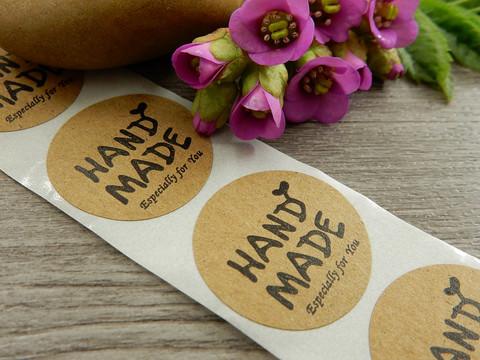 Handmade espesially for you tarra, 25mm, ruskea, 10kpl