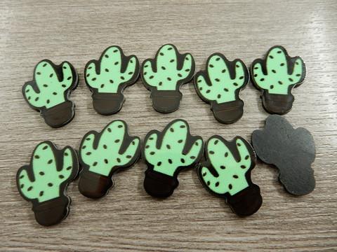 Kaktus kapussi, 25x38mm, vihreä, 1kpl
