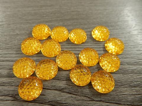 Kapussi, 10mm, keltainen, 1kpl