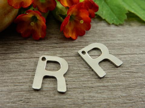 R-kirjainriipus, 11x9mm, rst, 1kpl