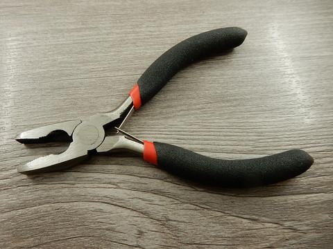 Uralliset/lattapäiset korupihdit, 11.5cm, musta, 1kpl