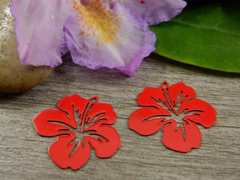 Kukkariipus, 19x20mm,punainen, 1kpl