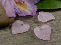 Lehtiriipus, 15x15mm, vaaleanlila, 1kpl