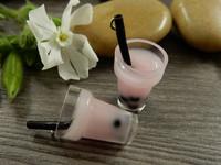 Smoothieriipus, 27x14mm, vaaleanpunainen, 1kpl