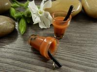 Smoothieriipus, 27x14mm, ruskea, 1kpl