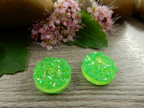 Kapussi rösöpinta, 12mm, vihreä, 1kpl