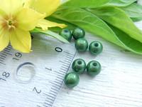Heijastava helmi, 6mm, vihreä, 1kpl