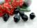 Akryylihelmi, 12mm, musta, 1kpl