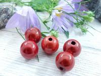 Heijastava helmi, 10mm, punainen, 1kpl