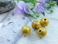 Heijastava helmi, 10mm, keltainen, 1kpl